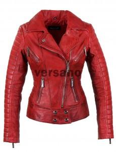 versano-leren-jas-dames-rood-336L-voor